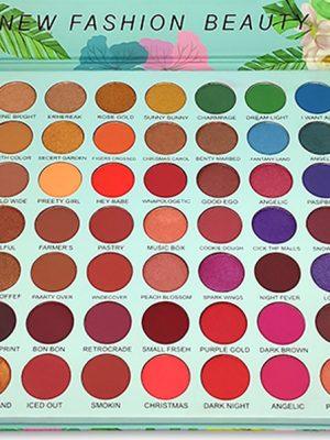 Paleta De Sombras 63 Colores