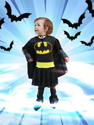 Traje Batman Niña
